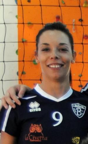 Ester Mazzamuto prima conferma alla pallavolo Bellaria per il 2012 2013