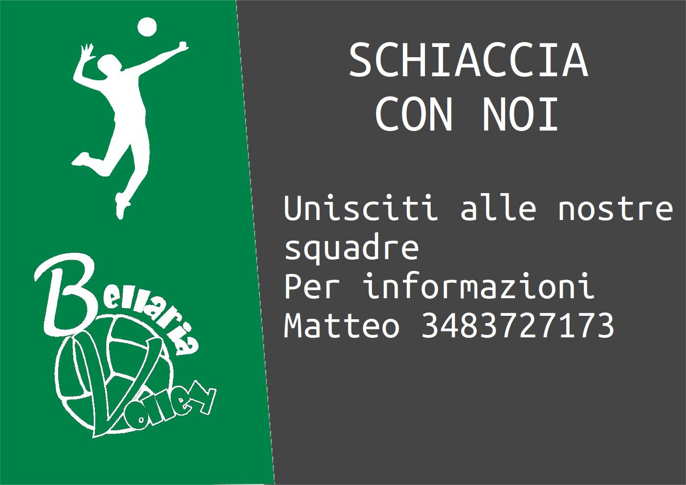 Unisciti a noi per informazioni Matteo 3483727173