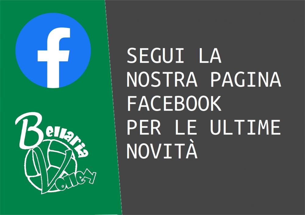 segui la nostra pagina Facebook